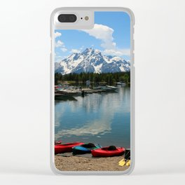 Beautiful Summerday At Colter Bay Clear iPhone Case