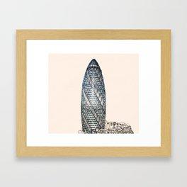 ArtWork Swiss Re London UK Painting Framed Art Print