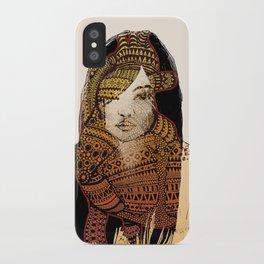 Native girl iPhone Case