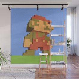 Mario NES nostalgia Wall Mural