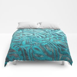 blue Rapping Comforters