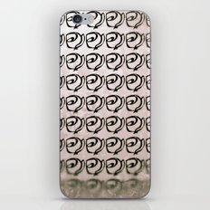 Rows of Flowers, Pink iPhone & iPod Skin