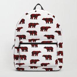 Lumberjack Bears Backpack