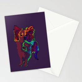 Apollo Dog Purple Stationery Cards