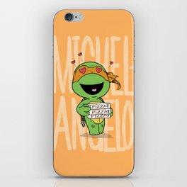 TMNT: Michelangelo (Cute & Dangerous) iPhone Skin