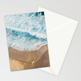 The Surfer and The Ocean Stationery Cards