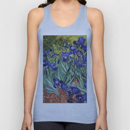 Irises by Vincent van Gogh Unisex Tank Top