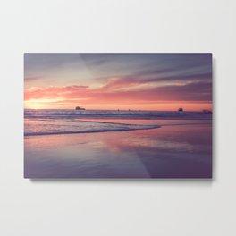 El Porto Sunset Metal Print