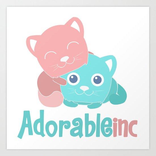 AdorableInc Art Print