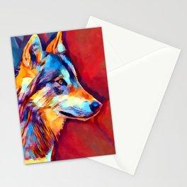 Wolf Portrait 2 Stationery Cards