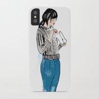 macaron iPhone & iPod Cases featuring Macaron by Iva Zugic Art