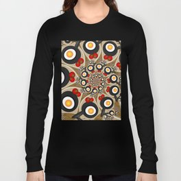 Brunch, Fractal Art Fantasy Long Sleeve T-shirt