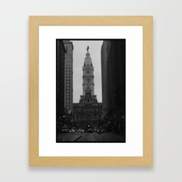 headlights Framed Art Print
