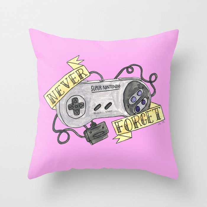 REMEMBER FOREVER Throw Pillow