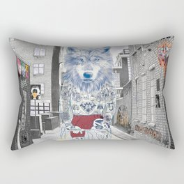 The Wolf Rectangular Pillow