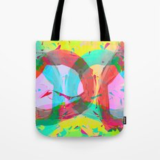 pastel color rings  Tote Bag