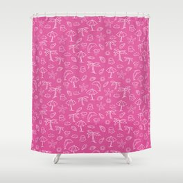 Summer Holiday Weather Pattern Shower Curtain