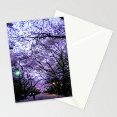Sakura Walk Stationery Cards