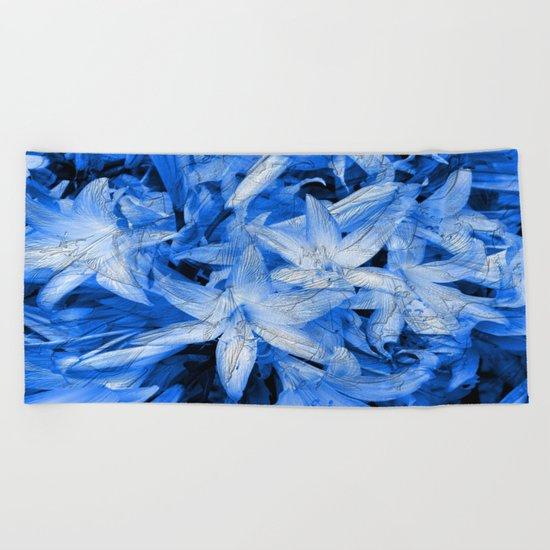 Blue... Beach Towel
