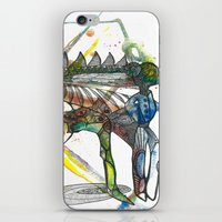 wings iPhone & iPod Skins featuring Wings by Dawn Patel Art
