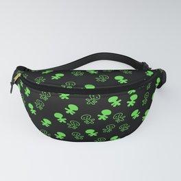 Aliens-Green Fanny Pack
