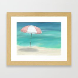 Passover - Beach Framed Art Print