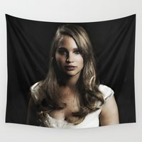 law Wall Tapestries featuring J Law 2 by André Joseph Martin