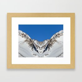 Somewhere in Patagonia, Mountain Nation Framed Art Print