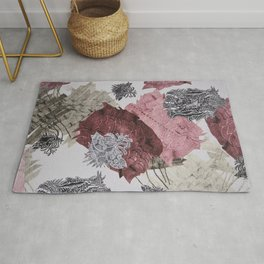 Carbonation Collection: pink Rug