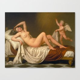 Danaë and the Shower of Gold by Adolf Ulrik Wertmüller Canvas Print