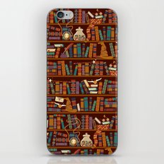 Bookshelf iPhone Skin