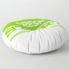 Fresh From The Front Floor Pillow