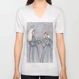 Two Nuns Unisex V-Neck