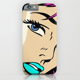 A roughly vectorised and reworked Roy Lichtenstein iPhone Case