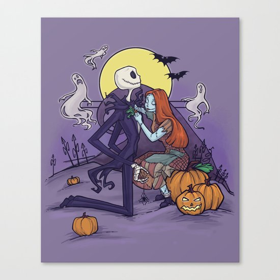 The Halloween Hero Canvas Print