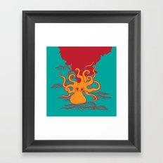 You Made Me Ink Framed Art Print