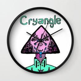 Cryangle Wall Clock