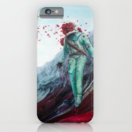Flowers for Astronaut iPhone Case