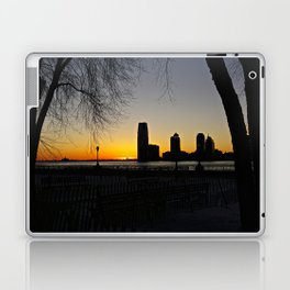 Sunset over The Hudson River, NYC 3 Laptop & iPad Skin