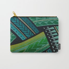 Green Tatau Carry-All Pouch