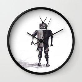 Awkward Robot Wall Clock