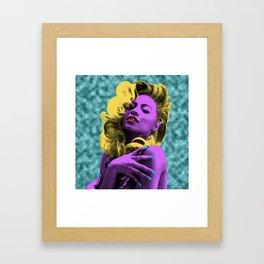 B E Y O N C E POP ART Framed Art Print