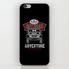 the ultimate off road iPhone Skin