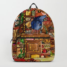 Christmas with Mice Backpack