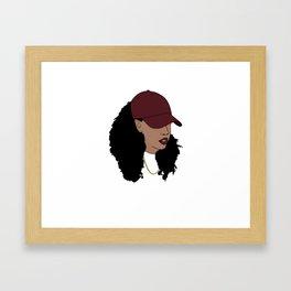 Poetry&Pins Logo Framed Art Print