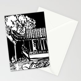 Chinese Garden Stationery Cards