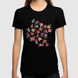 Pop Flower Belt T-shirt