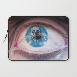 Death in the eyes Laptop Sleeve