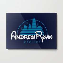 Andrew Ryan - Rapture Metal Print