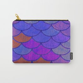 Multicolor Scales Carry-All Pouch